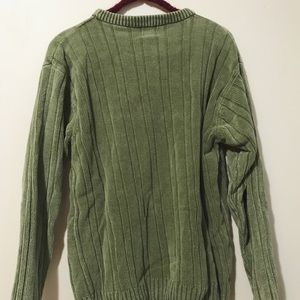 Faded Green Vintage Sweater